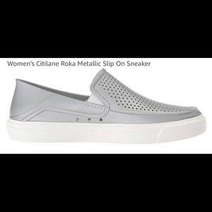 NWT Women's Citilane Roka Metallic Slip On Sneaker